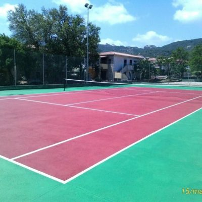 campo tennis ( Delphina ) - Hotel Cala di Falco Loc. Cannigione Arzachenz OT
