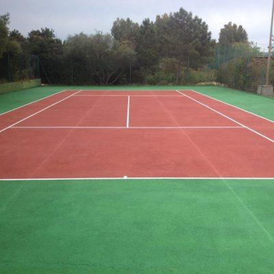 campo tennis ( Delphina ) - Resort Cala di Lepre Loc. Palau OT