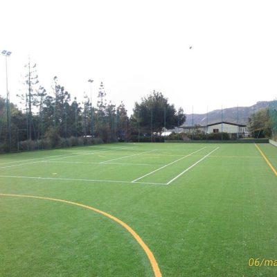 tennis-calcetto in erba sintetica ( Delphina ) - Resort Cala di Lepre Loc. Palau OT 1