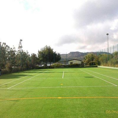 tennis-calcetto in erba sintetica ( Delphina ) - Resort Cala di Lepre Loc. Palau OT 2